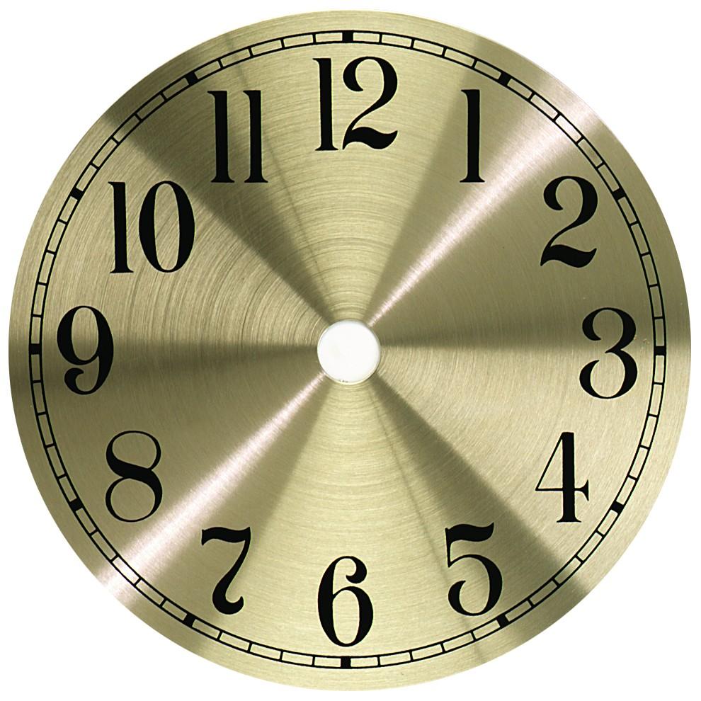 gold arabic metal clock dial 7. Black Bedroom Furniture Sets. Home Design Ideas