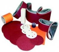 Sanding paper and finishing supplies.