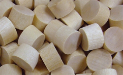 flat head plugs, wood plugs