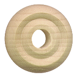 Small wood toy wheels