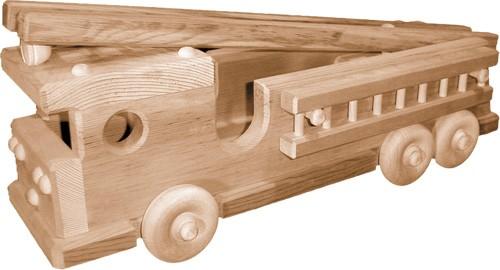 Wooden Fire Truck Plans