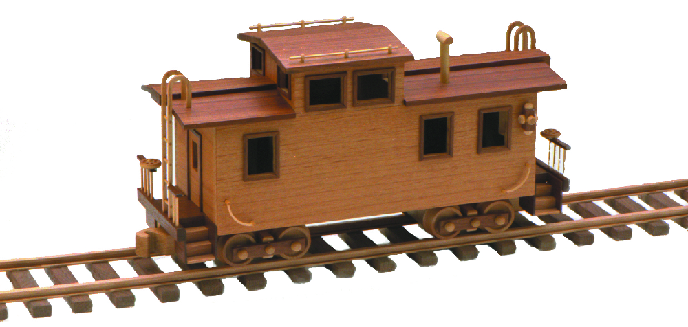 Plan Toys Train Joys : Caboose inch woodworking plan