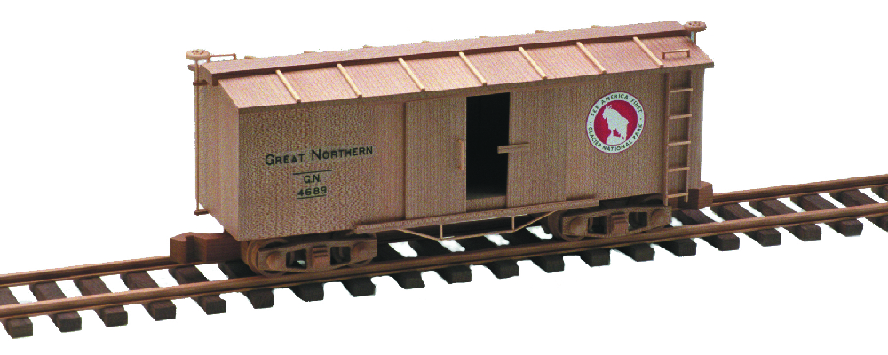 Plan Toys Train Joys : Box car woodworking plan