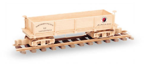 Plan Toys Train Joys : Gondola train car plan inch woodworking