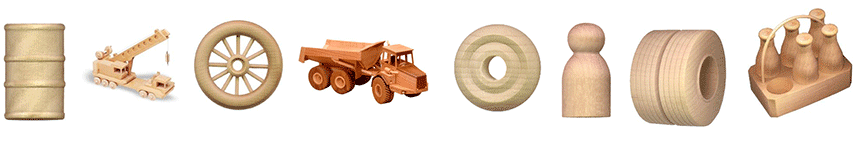 Wood Toy Parts and Plans