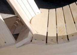adirondack chair plans curved back