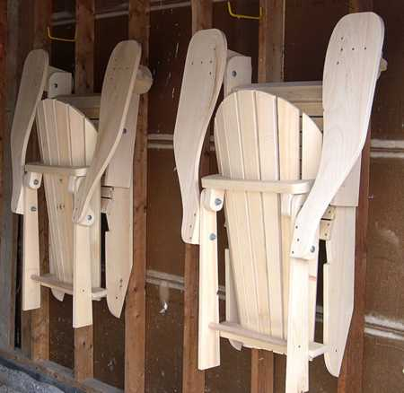 Folding Adirondack Chair Design