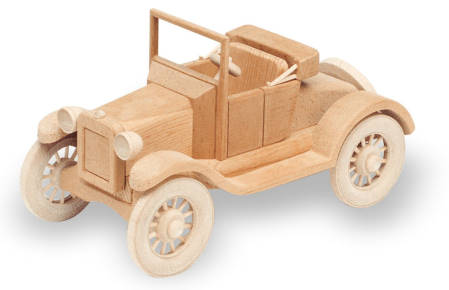 1921 Model T Ford Woodworking Pattern