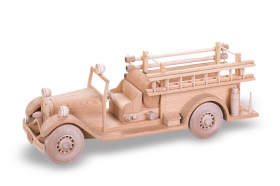 Woodworking Patterns 1933 Seagrave Fire Truck | Bear Woods Supply
