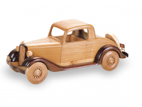 Woodworking Patterns 1934 Chevy Coupe | Bear Woods Supply