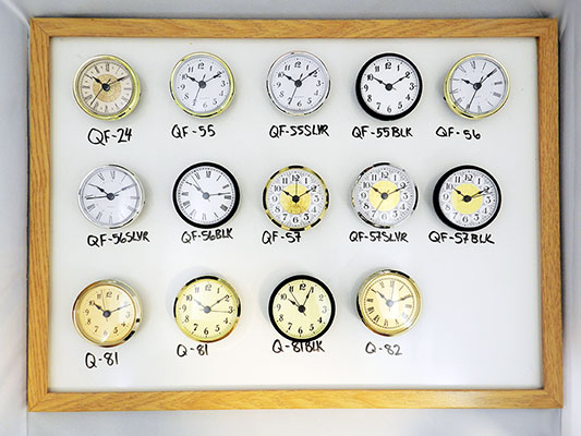 Clock inserts wholesale | Bear Woods Supply
