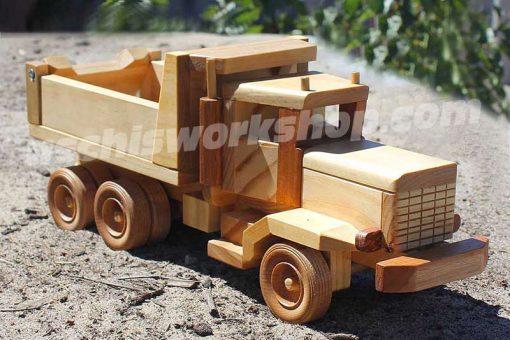 Heavy Dump Truck Woodworking Pattern - Tuff Truck