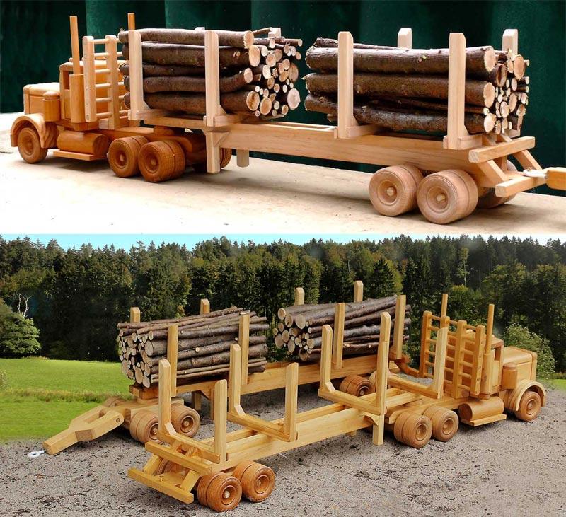 Pulp Wood Trailer
