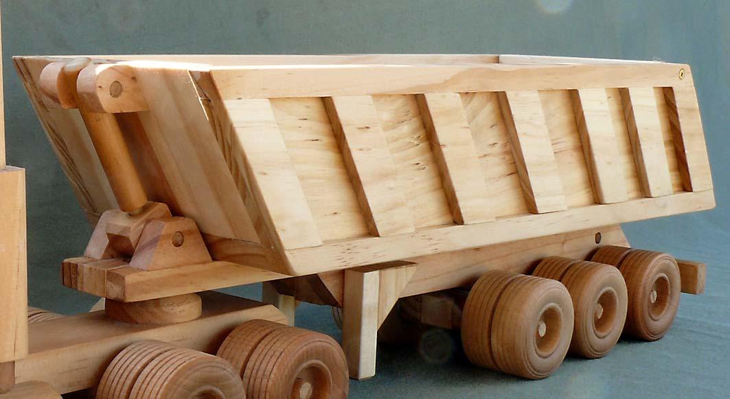 Gravel Trailer Woodworking Pattern