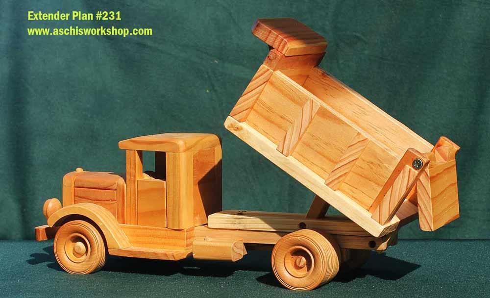 Tuff Truck Roaring 30's Tipper + Dump Truck