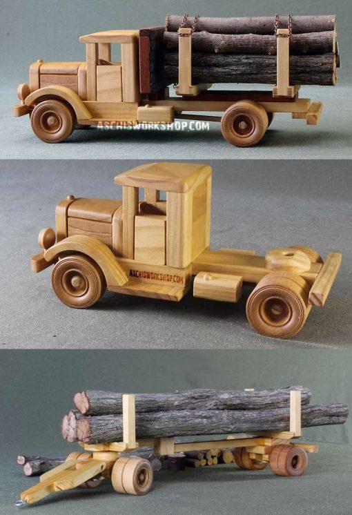 Tuff Truck Logging Truck