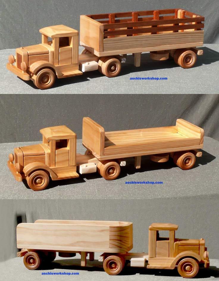 Tuff Truck 3 Semi Trailers