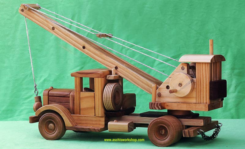Tuff Truck Roaring 30's Truck Crane