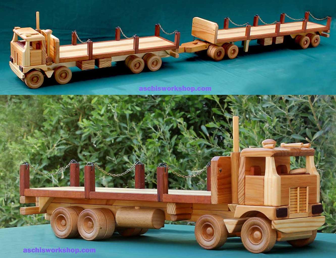 Tuff Truck 8-Wheeler Stake Truck
