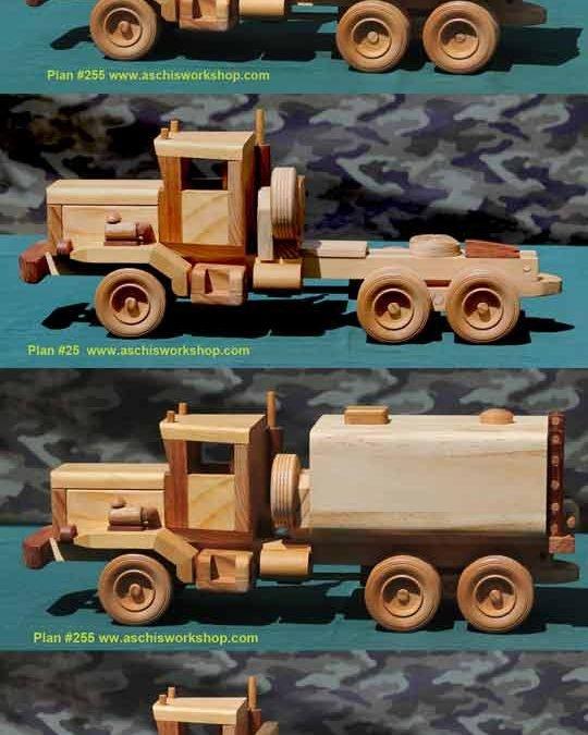 Conversion Plans for Heavy Dump Truck