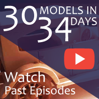 30 Wooden Model Cars and Trucks on YouTube in 34 Days