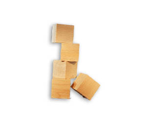 Wooden Blocks, Wooden Cubes