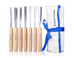 7-piece normal factory sharpened carving set