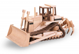 Woodworking Pattern The High Track Dozer | Bear Woods Supply