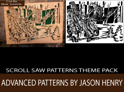 Advanced Scroll Saw Patterns Pack by Jason Henry
