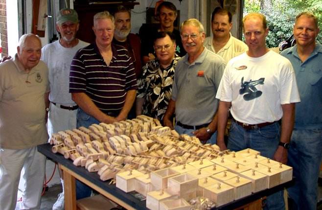 Alabama Woodworkers wooden toys