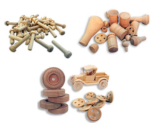Wooden Toy Axle Pegs, Wooden Axle Caps