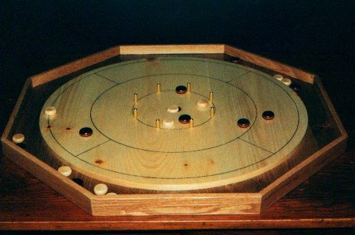 Crokinole Board Game Plan Downloadable