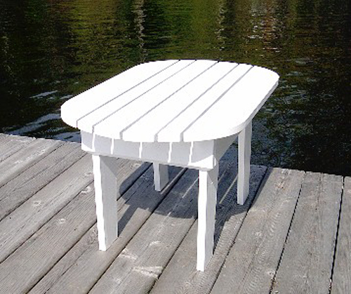 Adirondack table plan downloadable for Adirondack side table plans