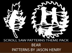 Bears Scroll Saw Patterns by Jason Henry