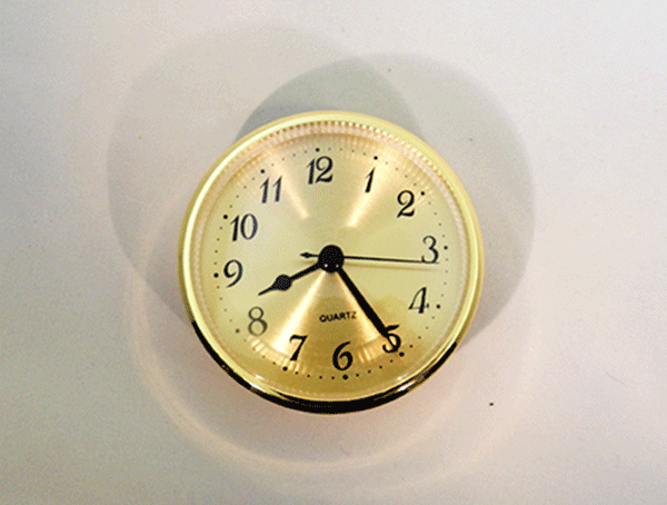 Ivory Arabic Clock Fitup   Bear Woods Supply