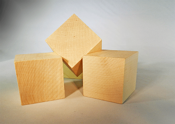 Wooden Blocks 1 34 Inch Wood Cubes