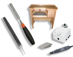 Carving Table, Wood Rasps, Wood Files, Micromotor Rotary Tool