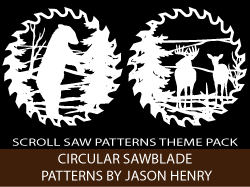 Circular Saw Blades Scroll Saw Patterns by Jason Henry
