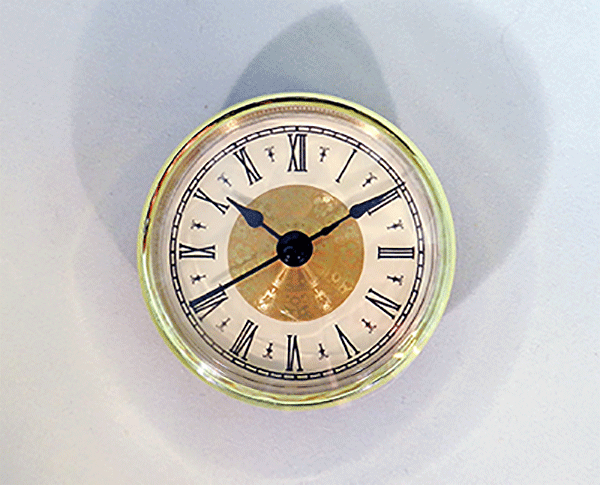 Fancy Ivory Roman Clock Insert   Bear Woods Supply