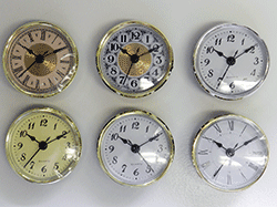 Buy clock inserts and fit-ups | Bear Woods Supply