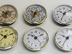 Buy clock fitups and inserts | Bear Woods Supply