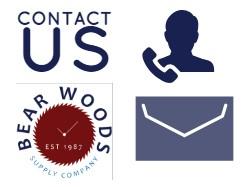 Contact Bear Woods Company Bear Woods