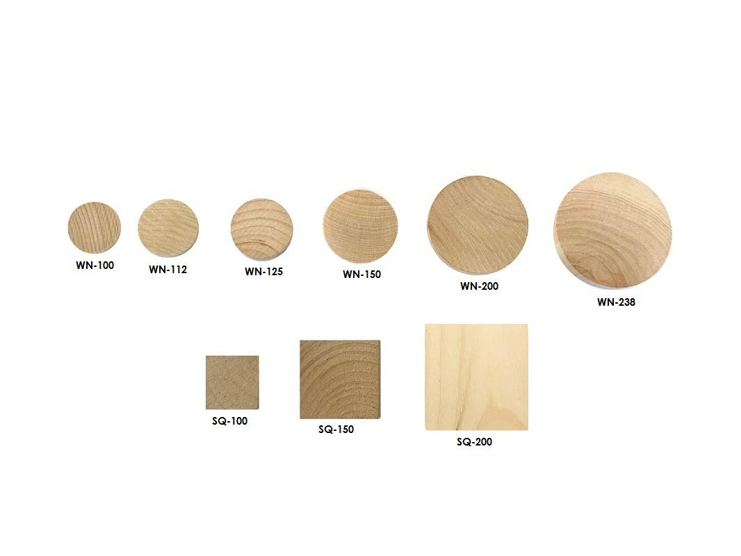 Buy wood discs, wooden tiles | Bear Woods Supply