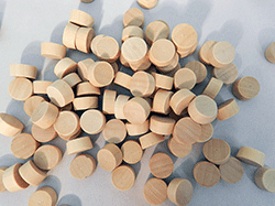 Flat Head End Grain Wooden Plugs | Bear Woods Supply