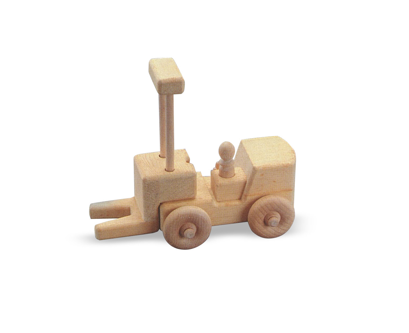 Buy the Forklift woodworking pattern from Toys N Joys | Bear Woods Supply