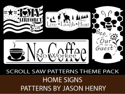 Home Sign Patterns Pack by Jason Henry