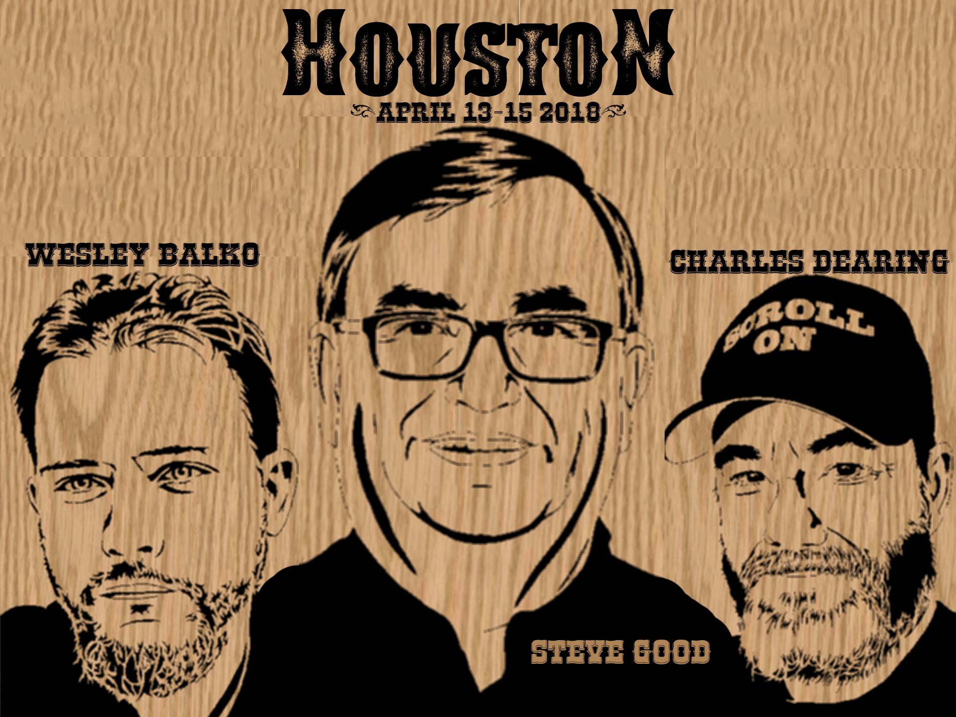 Bear Woods At Houston Woodworking Show