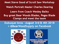 Bear Woods At Midwest Scroll Saw Amp Woodworking Show
