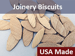 Wooden Joinery Biscuits