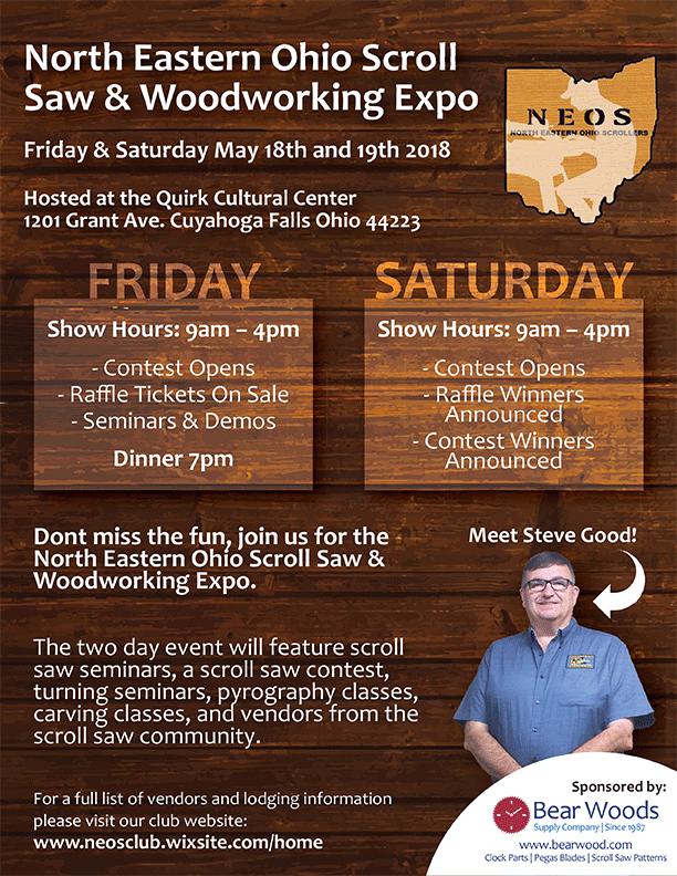 Scroll Saw Woodworking Show Ohio 2018